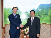 Deputy Prime Minister greets World Economic Forum's official