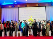 Female ambassadors pay working trip to Hoa Binh
