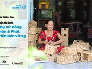 Photo contest on rural women, sustainable development launched