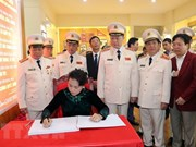 Public security force urged to uphold President Ho's teachings