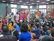 Vietnamese Buddhist Association hold requiem in RoK