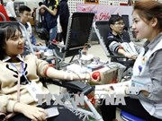 """Red Spring"" festival collects 10,200 blood units"