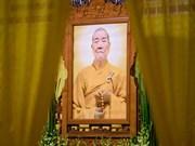 Deputy Patriarch of Vietnam Buddhist Sangha dies aged 90