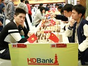 Le Tuan Minh tops HDBank chess tournament after sixth round
