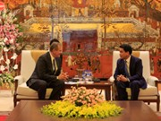 Hanoi mayor receives delegation of LDS Church