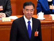 Congratulations to chief of China's top political advisory body