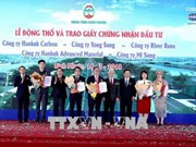 Work starts on five RoK-invested projects in Binh Phuoc