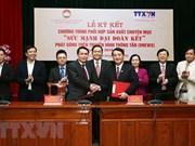 VNA, VFF join hands in producing TV programme