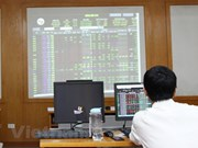 Large amount of shares traded, pulling down indexes