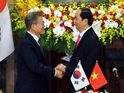 Korea Times highlights RoK President's visit to Vietnam