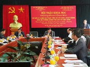 Vietnam, Laos exchange experience in political system operation