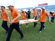 ASEAN, Japan medical teams join disaster response drill