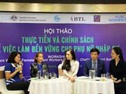 Experts discuss generating decent work for female migrant workers