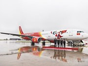 Vietjet receives newest A321 aircraft from Airbus