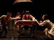 Japanese, Vietnamese mimes come to Hanoi