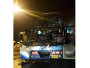 Thailand: 20 Myanmar migrants killed in bus fire