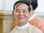U Win Myint sworn in as Myanmar President