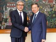 Vietnam, Mongolia cooperate in crime combat