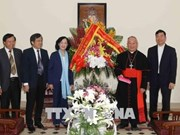 Easter greetings extended to Catholics in Hanoi