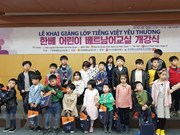 Vietnamese classes opened for children of Vietnam – RoK families