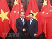 Deputy PM holds talks with Chinese Foreign Minister