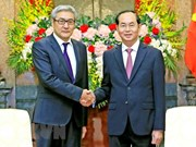 President Tran Dai Quang hails consolidated friendship with Mongolia