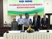 Vietnam, Australia seek to create hi-tech agricultural value chain
