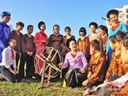 Art project preserves folk singing in southern region
