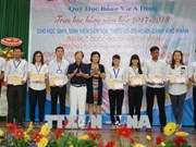 Vu A Dinh Scholarship Fund strives to give bigger aid to needy student