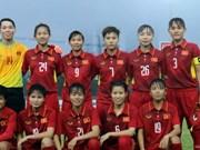 AFC lauds Vietnam's female football squad