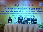 Vietnam, Australia look to jointly create valuable chains
