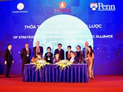 Vingroup inks cooperation deal with US universities