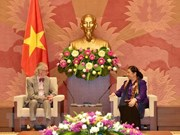 NA Vice Chairwoman receives former IPU Secretary General