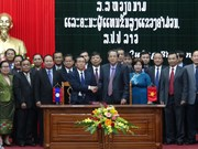 Vietnamese, Lao provinces reinforce multifaceted cooperation