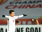 Nguyen Quang Hai in England World Soccer's top 500 players