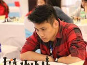 Tran Minh Thang wins gold medal at Asian youth chess champs