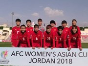 Vietnam loses 0-4 to Japan at AFC Women's Asian Cup
