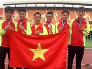 Vietnam ranks 2nd at regional junior athletics tournament