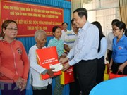 VFF leader extends New Year greetings to Khmer community in Tra Vinh