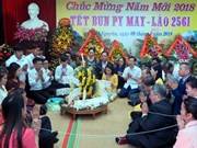 Friendship gathering celebrates Lao traditional festival