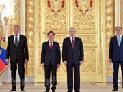 President Putin stresses thriving Vietnam-Russia relations