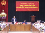 Cao Bang meets standards on education universalisation