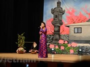 Art performance raises funds for Vietnamese pagoda in Japan