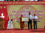 Bo Luy-Lo Gach pagoda relic gets national status