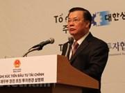 Korean investors join efforts to develop RoK-VN ties: Finance Minister