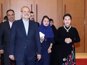Iranian Speaker of Parliament wraps up Vietnam visit
