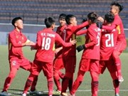 Vietnam tie Morocco 1-1 at Suwon JS Cup U-19 tournament