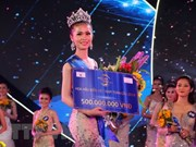 Tien Giang's beauty crowned Miss Sea Vietnam Global 2018