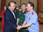 Prime Minister meets with war veterans of Tay Nguyen Front
