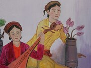 'Tale of Kieu' lands on village walls
